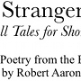On Stranger Winds - Tall Talles for Shorter Days - Six journeys of spooky fiction, Bindlegrim author